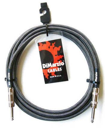 DIMARZIO EP1710SS INSTRUMENT 10ft CABLE (BLACK GREY) Інструментальний кабель, фото 2