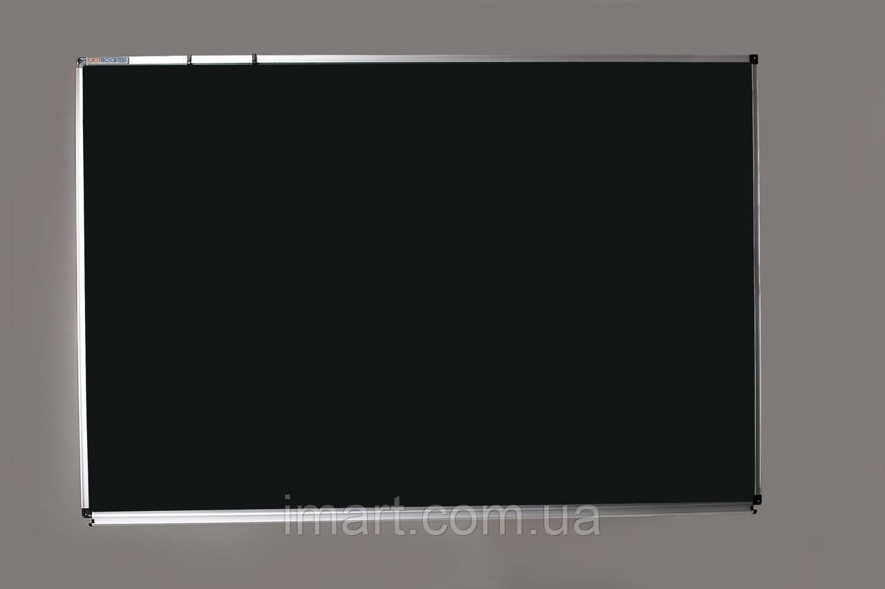 Купить Доска для мела в алюминиевой раме UkrBoards магнитная зеленая 75х100 см