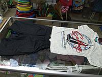 Костюм детский летний для мальчика Стильный футболка и шорты р.116 - 140