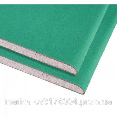 KNAUF Гипсокартон потолочный влагостойкий  2000х1200х9,5 мм