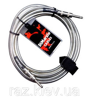 DIMARZIO EP1710SS INSTRUMENT 10ft CABLE (MAGENTA) Інструментальний кабель, фото 2