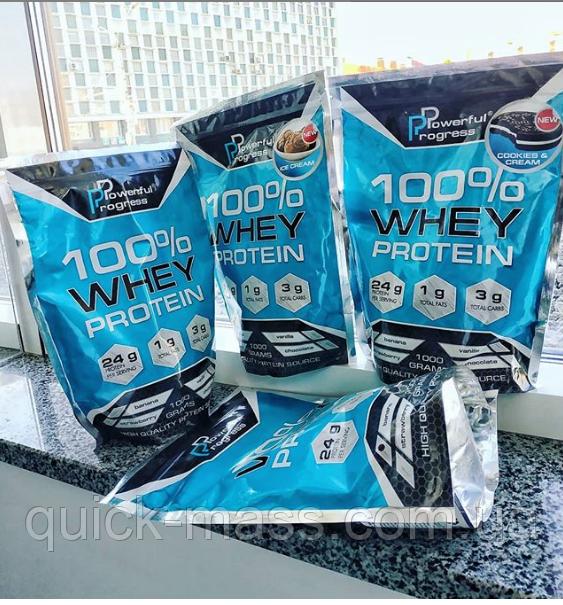 Протеїн Powerfull Progress 100% Whey Protein 1kg