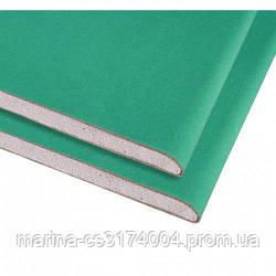Гипсокартон потолочный влагостойкий KNAUF 2500х1200х9,5 мм