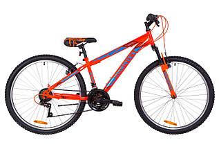 "Велосипед 24"" Discovery RIDER AM 14G Vbr St 2019 (оранжево-синий)"