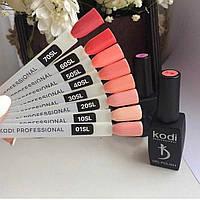 Гель лак Kodi 8 ml, цвета в ассортименте
