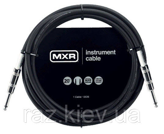 DUNLOP DCIS20 MXR STANDARD INSTRUMENT CABLE 20ft інструментальний кабель MXR Standard Series