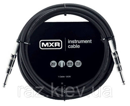 DUNLOP DCIS20 MXR STANDARD INSTRUMENT CABLE 20ft інструментальний кабель MXR Standard Series, фото 2