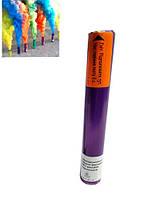 Цветной дым для фотосессий фиолетовый ДК-60 (дымовая шашка). Время работы 60 сек.