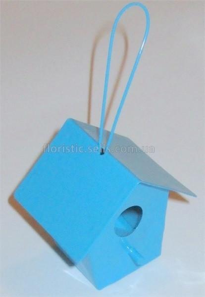Скворечник декоративный 5*5 см, голубой