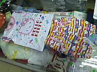 Костюм детский летний для маленькой девочки с шортами Китти р.62 - 86