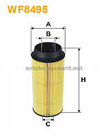 Фильтр топливный Iveco Daily IV, Daily V (производство Wix-Filtron) (арт. WF8495), ADHZX