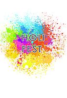 Футболка Holi Fest, Фестиваль Фарб Холі, футболка на Фестиваль Фарб, Рекомендується на Holi Fest!