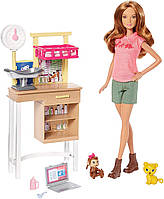 Barbie Кукла Барби ветеринарный врач(Barbie Zoo Doctor Playset)