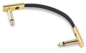ROCKBOARD RBOCABPC F10 GD GOLD Series Flat Patch Cable Інструментальний кабель, фото 2