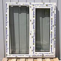Вікно OPEN TECK De-Lux 60мм, з однією стулкою.