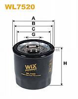Фильтр масляный Hyundai i20, i20 II; Kia Picanto II, Rio III (производство Wix-Filtron) (арт. WL7520), AAHZX