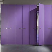 Шкафы с распашными фасадами МДФ  крашенный на фурнитуре   Linken System или GTV