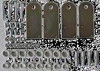 Кріплення до стіни для електрмонтажних шаф Claved Sicame Group ARKO