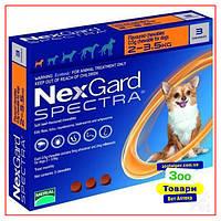 Нексгард Спектра 2-3,5кг от Блох и Клещей для Собак - 1 табл
