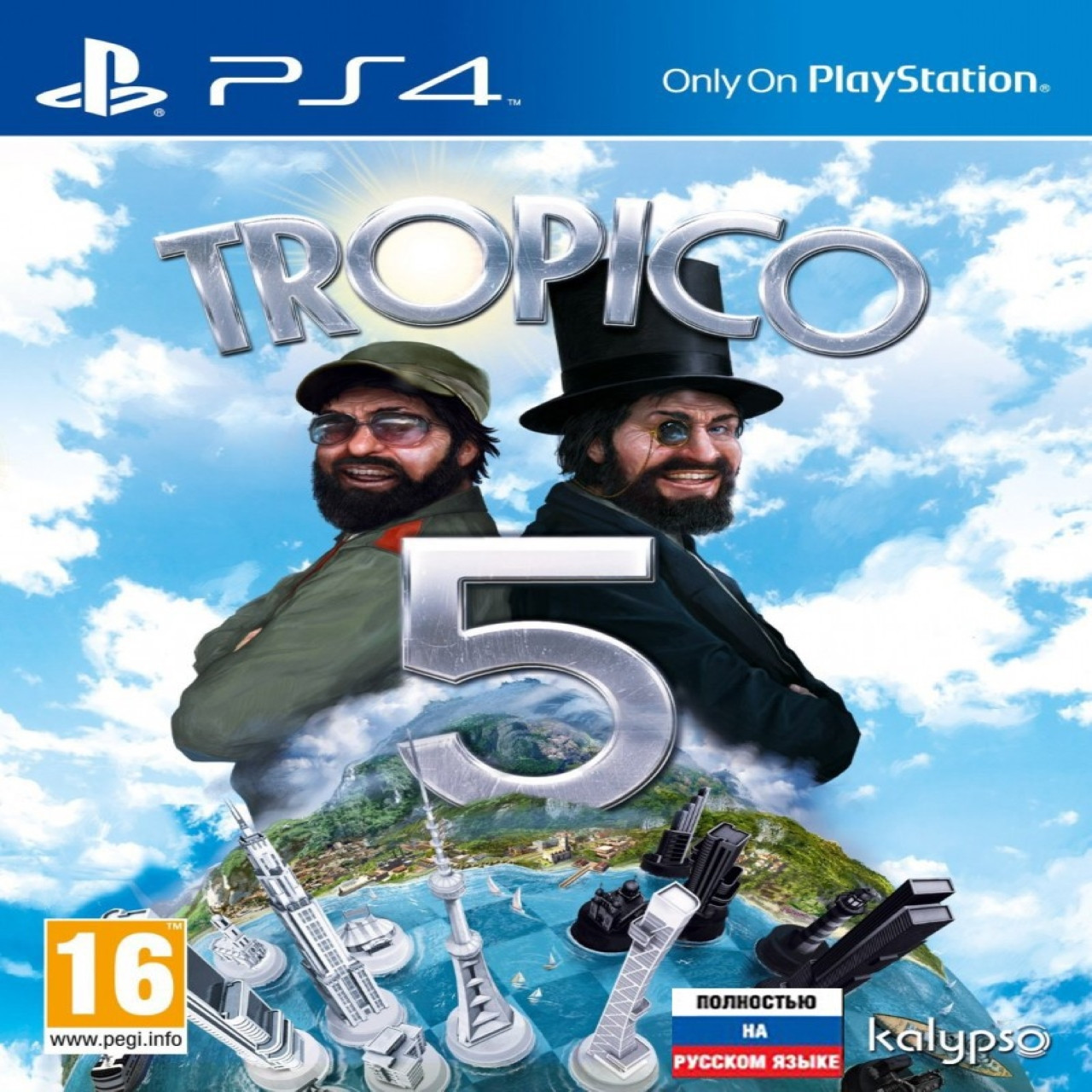 Tropico 5 RUS PS4 (Б/В)