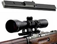 Планка для установки оптики на винтовку Мосина