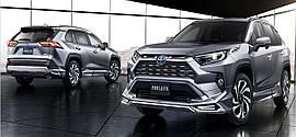 Спойлерной комплект Modelista Toyota Rav 4 2019+