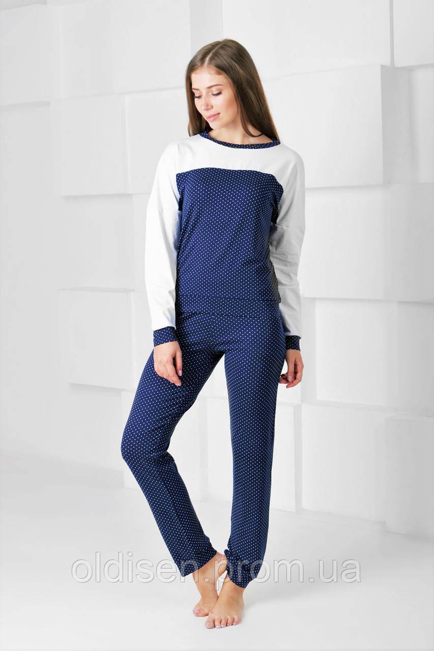 "Пижама "" Клео-5″ – Синий, M   44-46"