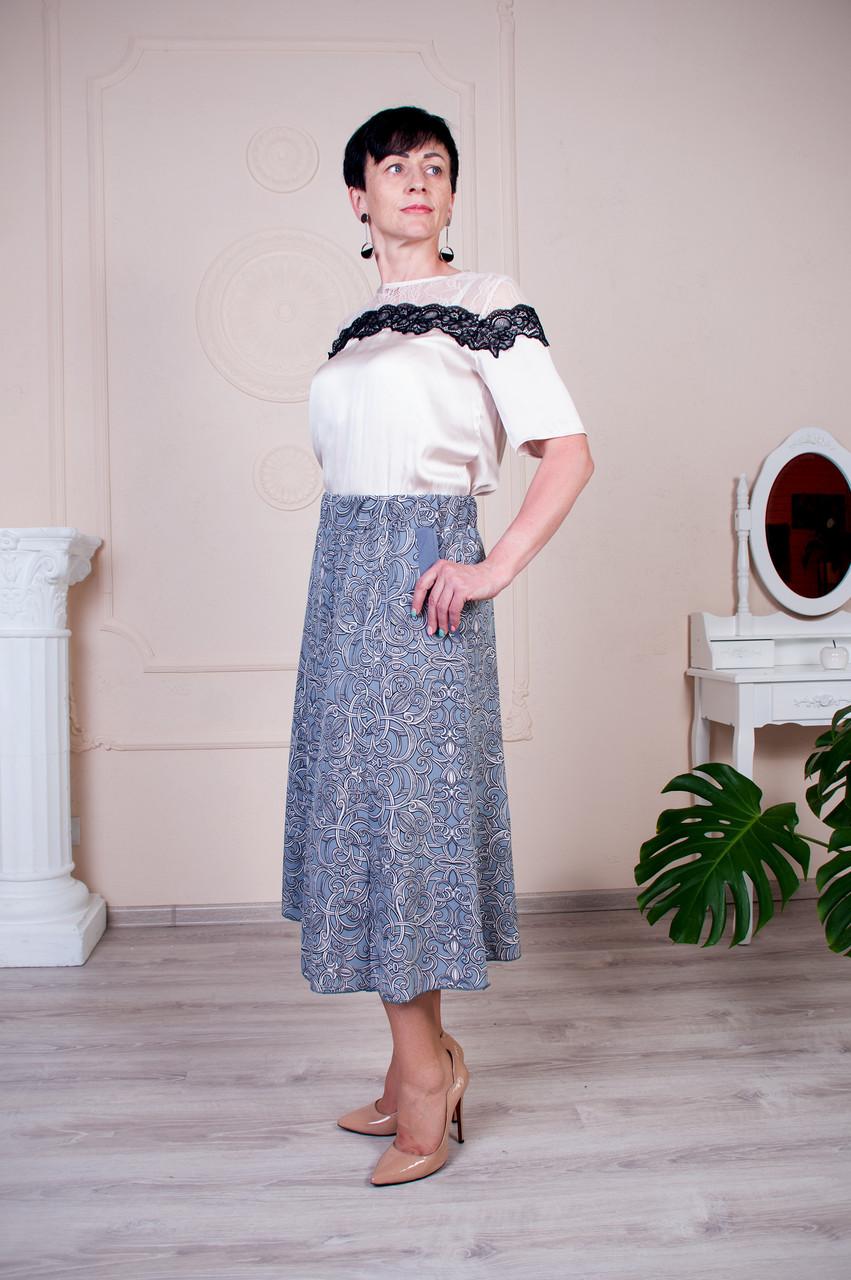 Женская юбка клеш Тая софт №1
