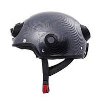 Умный шлем AIRWHEEL C6 для мотоцикла со встроенными видеокамерой и BT-гарнитурой  (Карбон) L