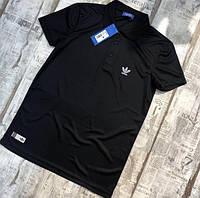 Футболка поло мужская Adidas D7332 черная