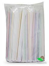 Трубочка кольорова в індивідуальній упаковці, d5, 21 см, 200 шт