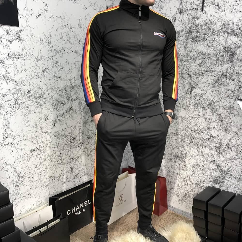 Спортивный костюм Balenciaga 18399 черный