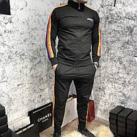 Спортивный костюм Balenciaga 18399 черный, фото 1