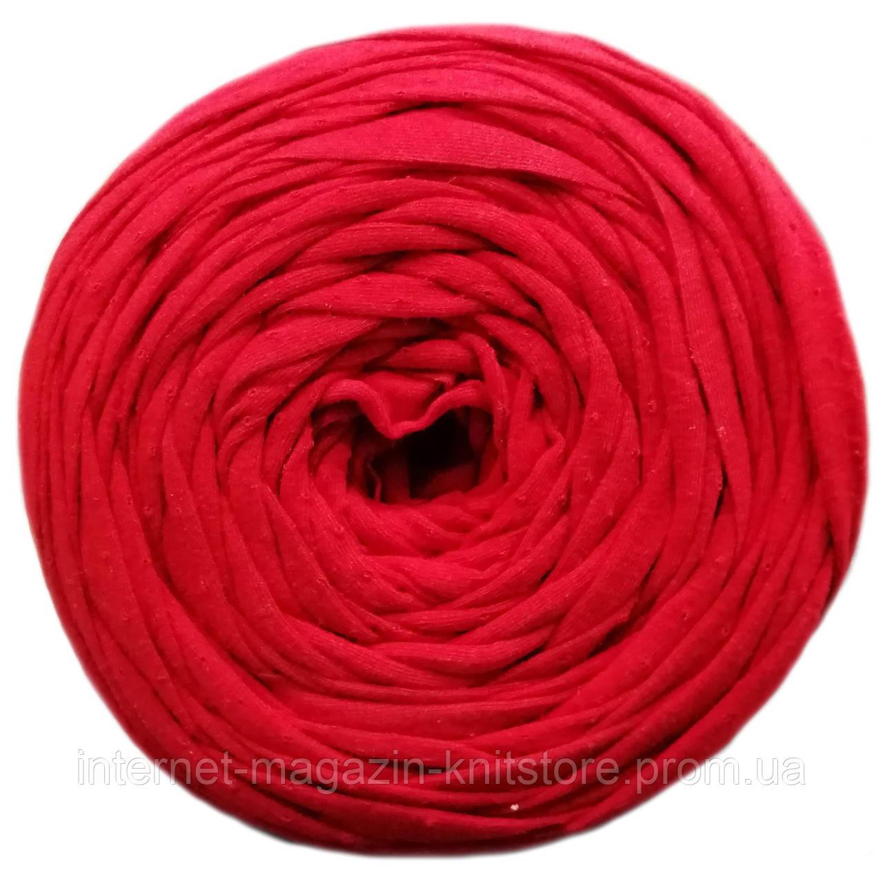 Пряжа трикотажна Therapy T-shirt Yarn L-Size Червоний