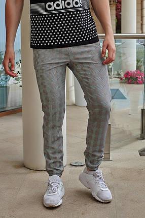"""Мужские зауженные спортивные брюки """"James"""" в полоску, фото 2"""
