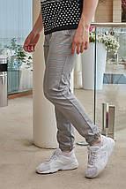 """Мужские зауженные спортивные брюки """"James"""" в полоску, фото 3"""