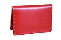 Универсальная обложка для водительских документов красного цвета (16894), фото 1