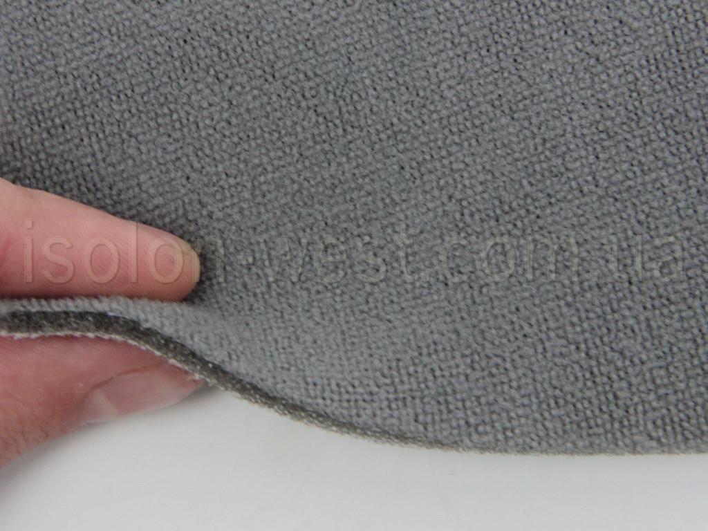 Ткань потолочная, серая 06-176 на поролоне и сетке
