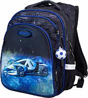 Рюкзак ортопедический школьный для мальчика 1-4 класса Winner stile 8065 размер 29см х 17,5см х 38,5см