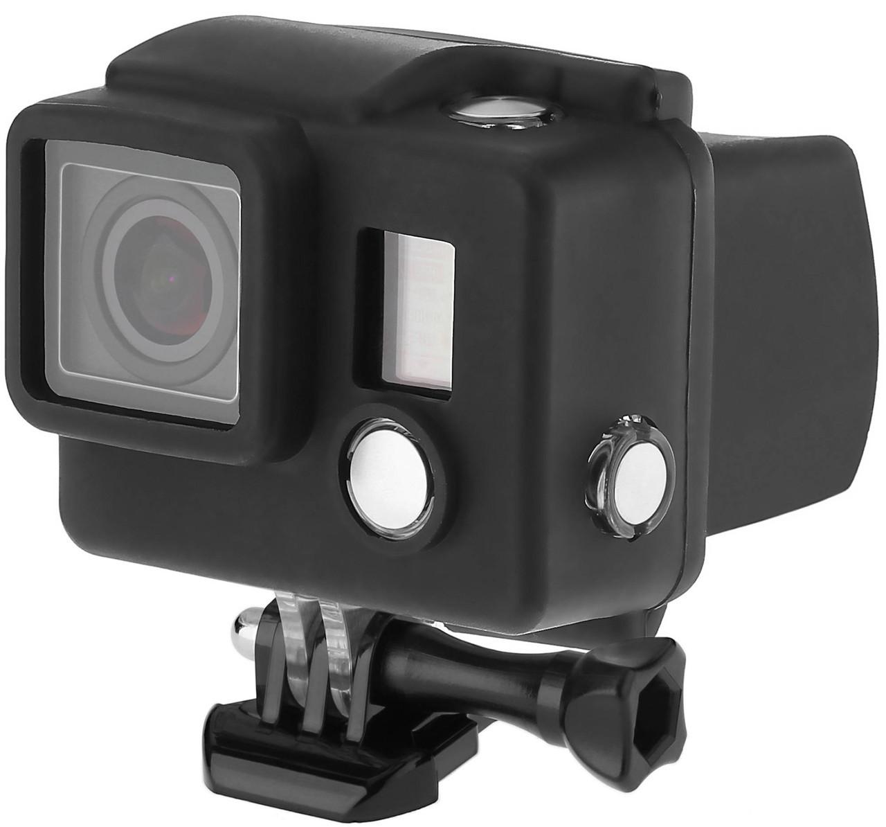 Силиконовый чехол для бокса для GoPro 3 4 5 6 7 Xiаomi Yi 4K Sjcam