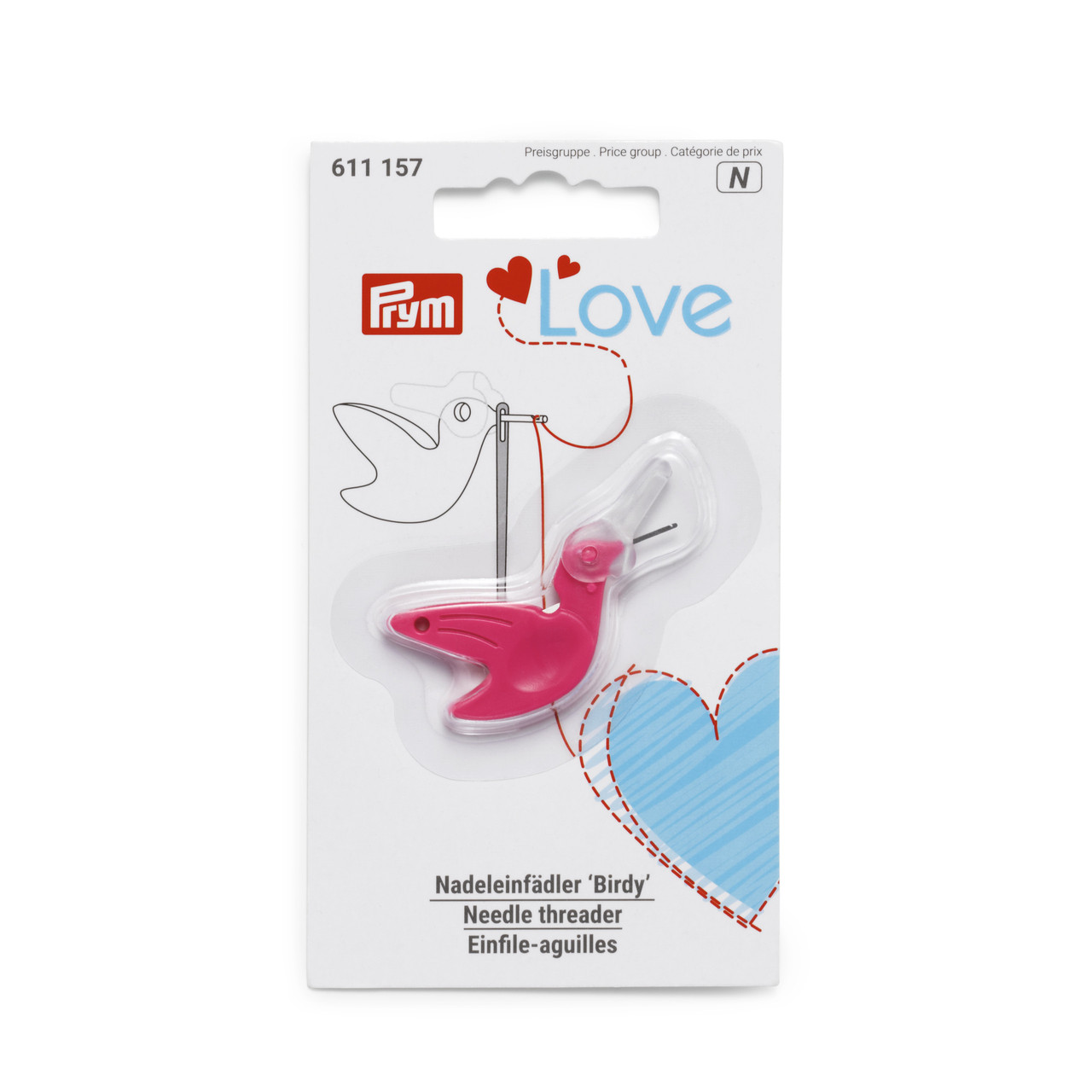 Нитевдеватель 'Birdy' Prym Love 611157