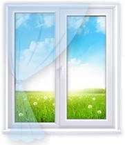 Вікна Стандарт 1300*1400, 4 камери, 2 скла з доставкою