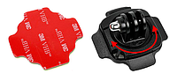 Крепление Hero 360 на шлем для GoPro 3 4 5 6 7 Xiаomi Yi 4K Sjcam