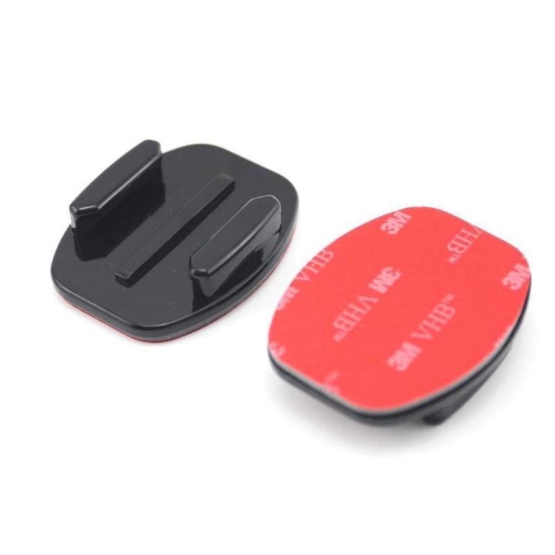 Платформа плоская + 2-х сторонний скотч 3М для GoPro 3 4 5 6 7 Xiаomi Yi 4K Sjcam