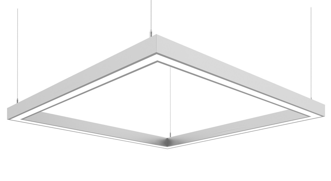Линейный светодиодный светильник Z-LED 160 Вт квадрат (840*840), фото 1