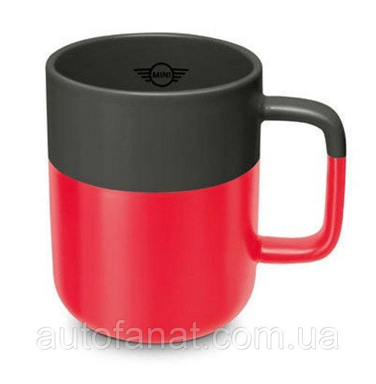 Оригинальная кружка MINI Colour Dip Cup, Coral/Grey (80282460902)
