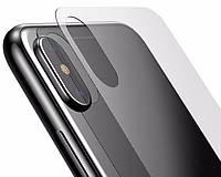 Защитное стекло для iPhone X Baseus 0.3mm Full-glass Back Tempered Film transparent