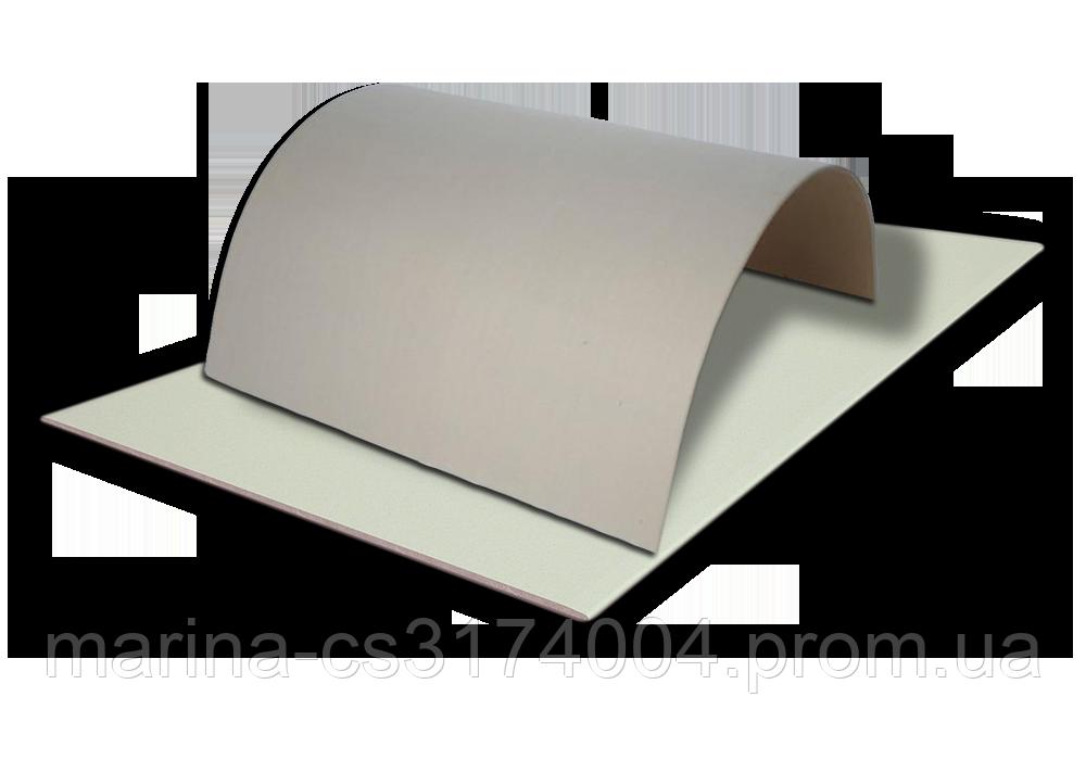Гипсокартон  арочный 3000х1200х6,5 мм Д KNAUF