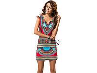 Легкое платье с этническим принтом Idress