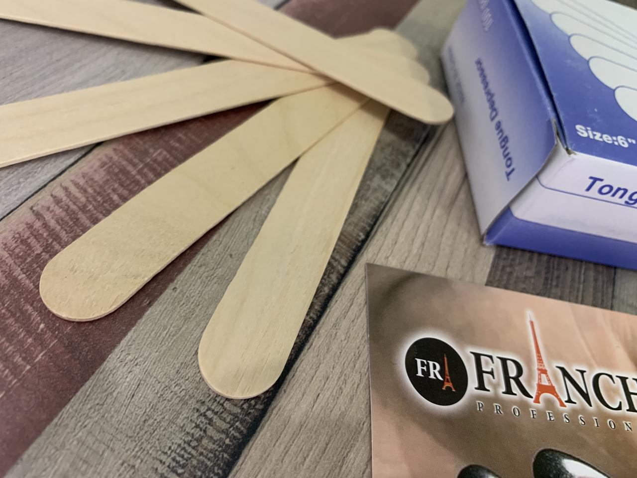 Шпатель деревянный одноразовый, 5 шт (Master Professional)